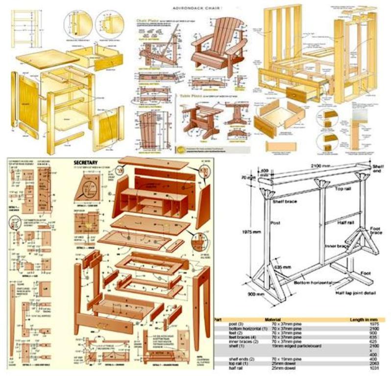 9000+ furniture craft plans